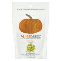 Superseedz Gourmet Pumpkin Seeds - Really Naked - Pack of 6 - 5 Oz.