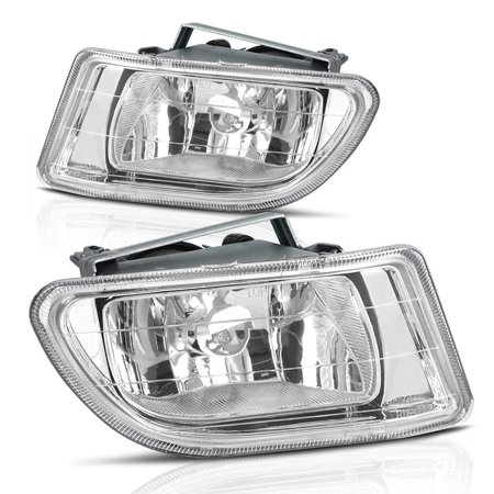 Fog Lights For Honda Odyssey 1999 2000 2001 2002 2003 2004 (Clear Lens with Bulbs & Wiring Harness),1 Year Warranty