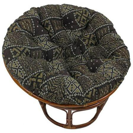 Blazing Needles  44-inch Exotic Tapestry Papasan Cushion - 44