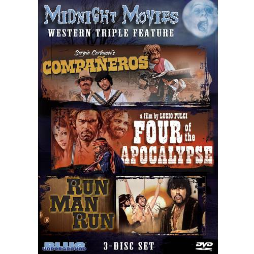 Midnight Movies: Western Triple Feature - Companeros / Four Of The Apocalypse / Run Man Run (Widescreen)