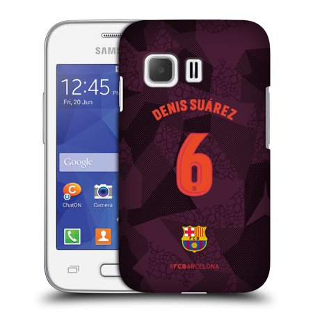 OFFICIAL FC BARCELONA 2017/18 PLAYERS THIRD KIT 1 HARD BACK CASE FOR SAMSUNG PHONES 3