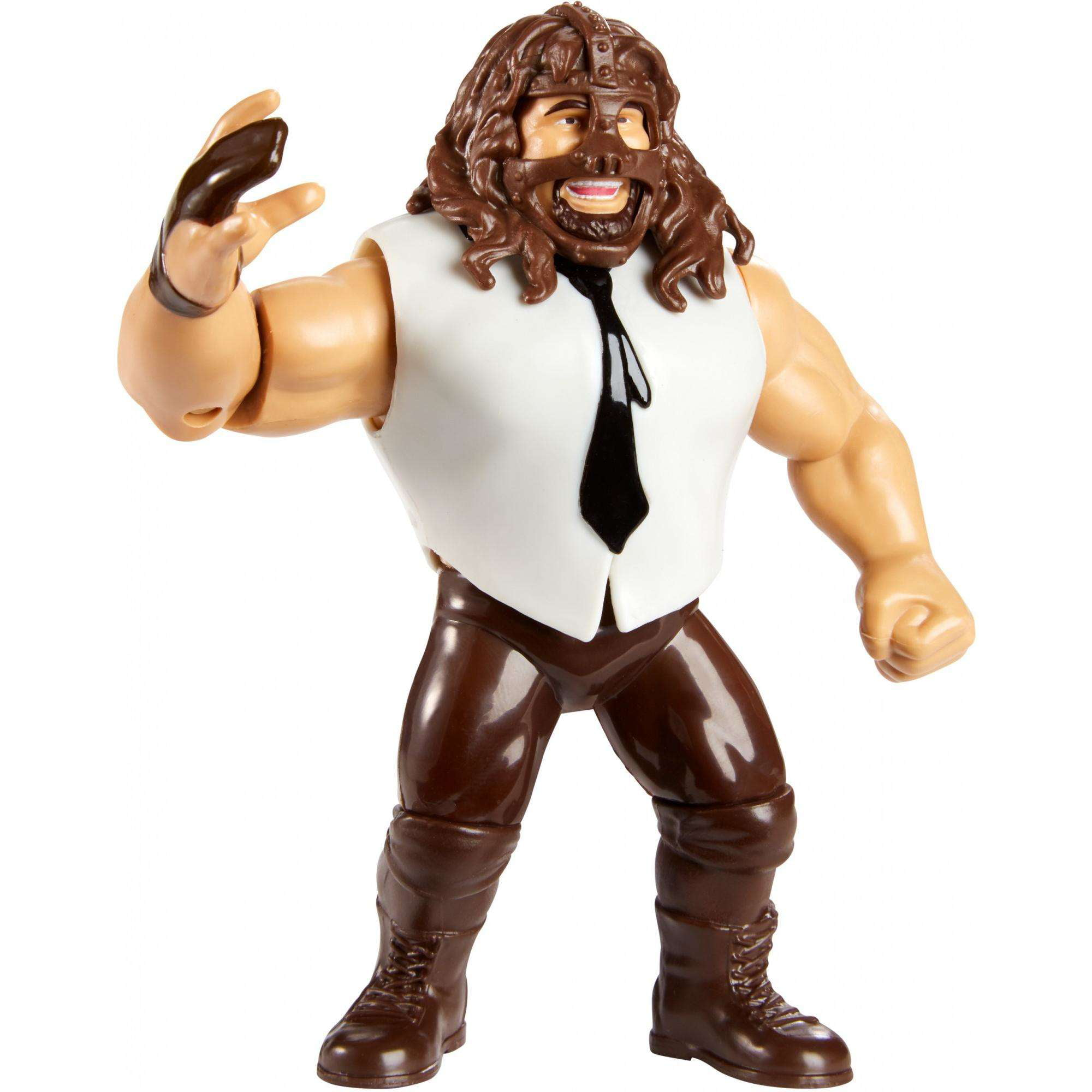 WWE Mankind Retro Action Figure by MATTEL BRANDS A DIVISION OF MATTEL DIRECT IMPORT INC