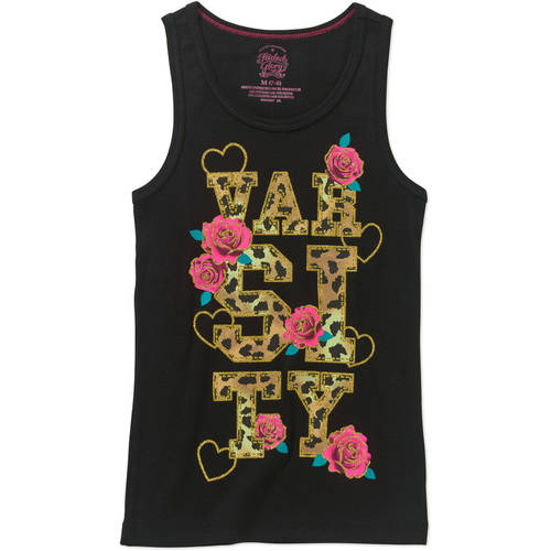 Faded Glory Girls' Graphic Tank
