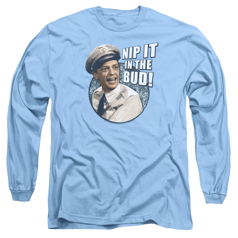The Andy Griffith Show Nip It Mens Long Sleeve Shirt