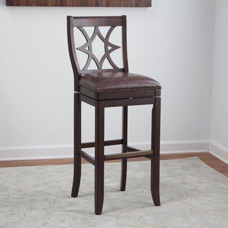 belham living emmett square seat swivel extra tall bar stool. Black Bedroom Furniture Sets. Home Design Ideas
