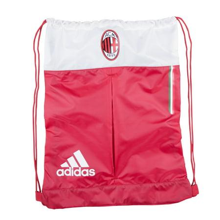 AC Milan Soccer Futbol Adidas Drawstring Backpack Sackpack