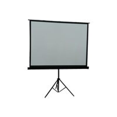 Inland Portable Projection Screen - Projection screen - 84 in ( 213 cm ) - 4:3 - Matte White - black