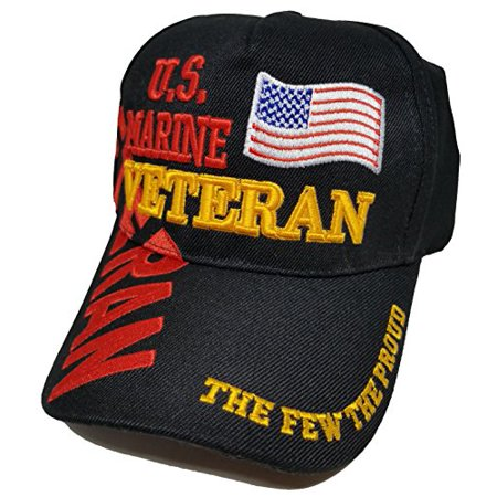 28a0bfea9da Buy Caps and Hats Marine Black Cap US Veteran American Flag USA Hat United  States