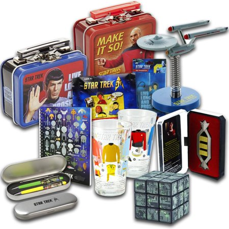 Star Trek Looksee Box With Pint Gles The Next Generation Puzzle Cube