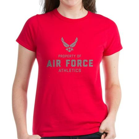 Cafepress   U S  Air Force Property Of Ai   Womens Dark T Shirt
