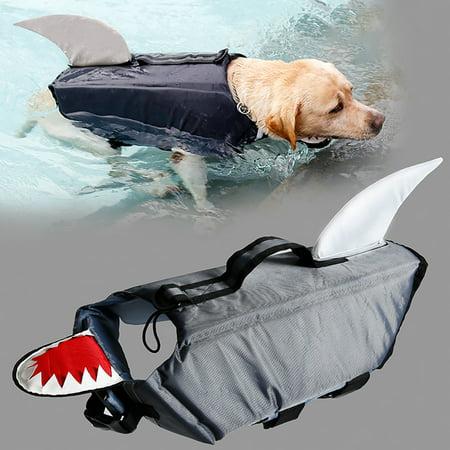DogLemi Pet Dog Fashion Reflecting Dog Saver Pet for Dog Water Safety
