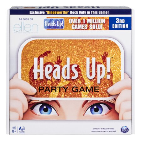 Heads Up! Party Game 3rd Edition, Fun Word Guessing Game for Families Aged 8 and Up (Foam Party Fun)
