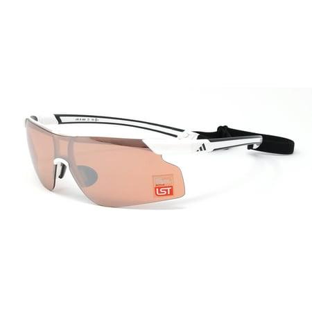 d5d2fef96c8c Adidas - Adidas Sunglasses Adizero Tempo Pro S A188 6050 white black active  silver - Walmart.com