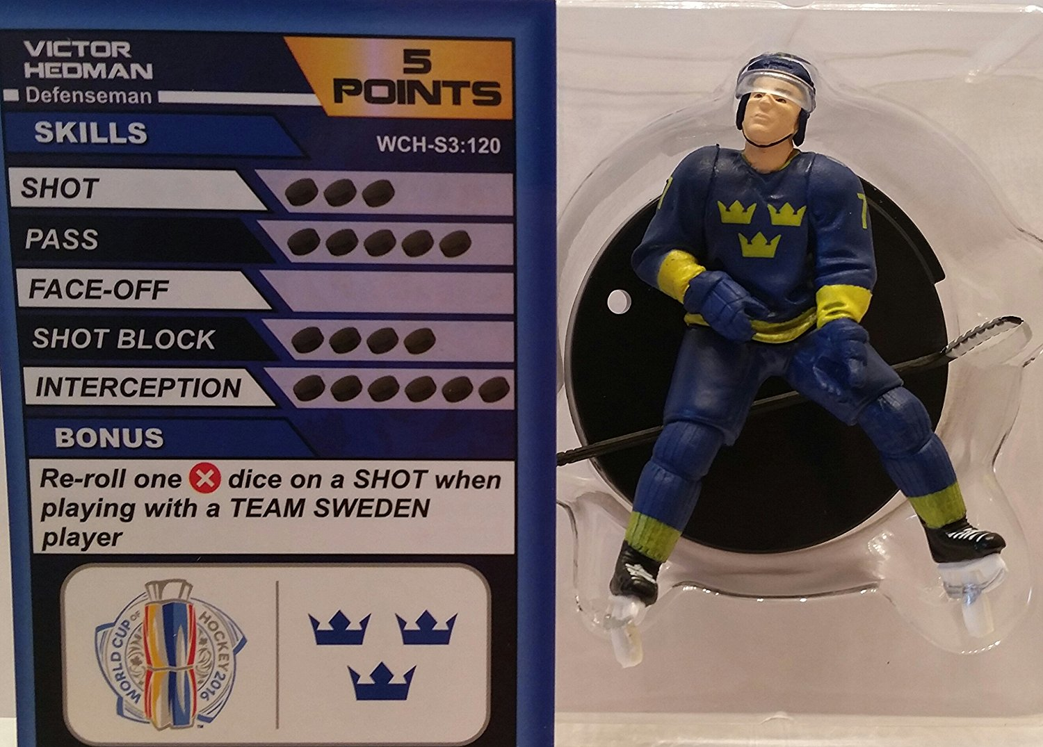 World Cup of Hockey Team Sweden Victor Hedman (Common) by