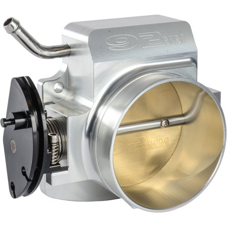 Billet Aluminum Throttle Body - JEGS Performance Products 14520 Throttle Body LS Engines 92mm Billet Aluminum Si