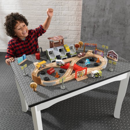 Disney Pixar Cars 3 50 Piece Thunder Hollow Track Set By KidKraft with 55 accessories included
