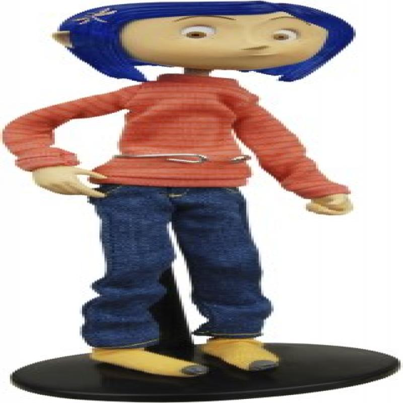 Neca Coraline Bendy Doll in Casual Outfit