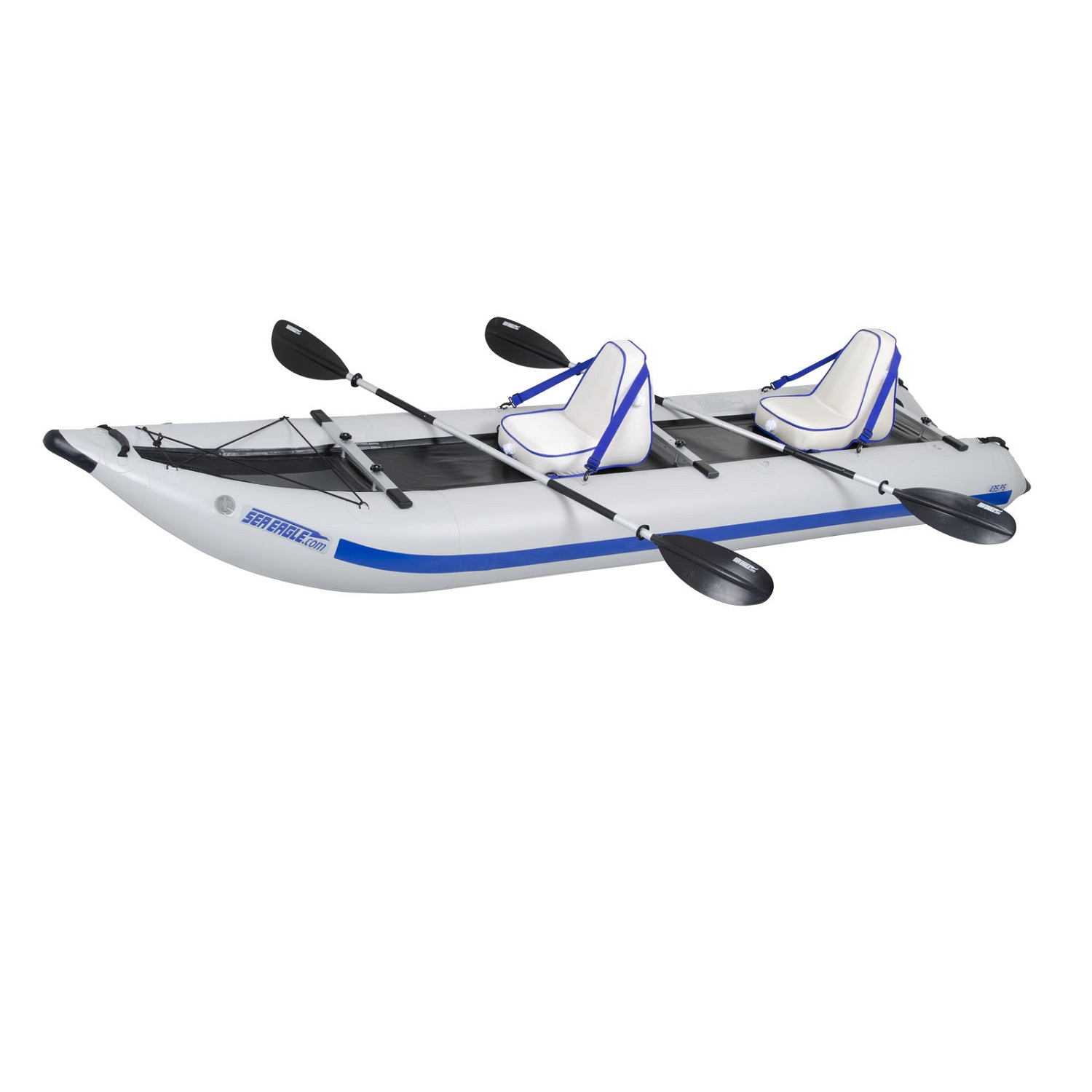Sea Eagle PaddleSki Catamaran Inflatable Kayak 435PSK Deluxe by Sea Eagle