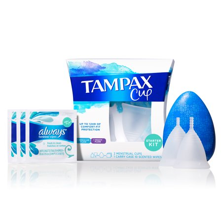 Lily Cup - Tampax Menstrual Cup, Starter Kit