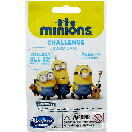 Despicable Me Challenge Card Game Minions Challenge Mystery Pack](Halloween Mystery Box Game Ideas)