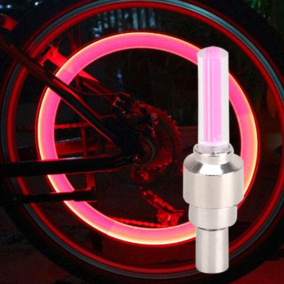 LED Bicycle Lights Wheel Tire Safety Warning Lamp Front lights Taillight