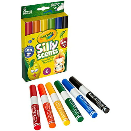 Crayola Silly Scents 6Ct Scented Washable Scented Markers - image 5 de 5