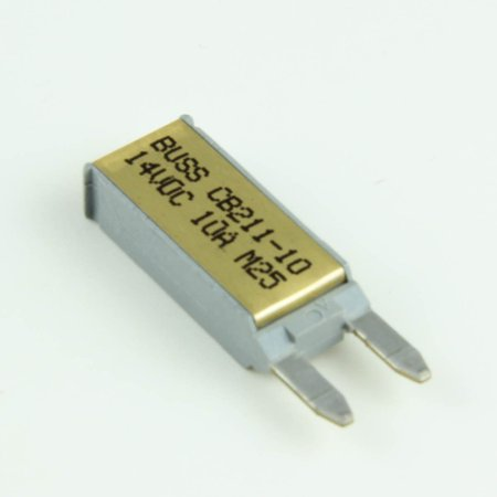 10 Amp Auto-Reset Mini/ATM Blade-Style Circuit Breakers (1 per pack)