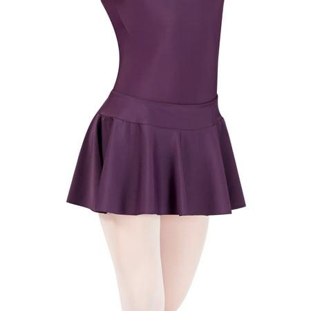 Nylon Petite Skirt - Adult Pull-On Nylon Skirt