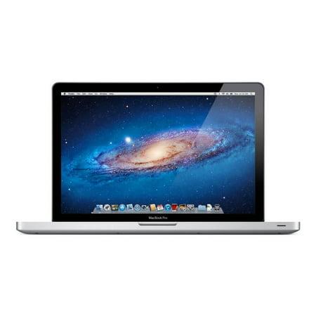 """Refurbished Apple MacBook Pro 15.4"""" LED Laptop Intel Quad Core i7 4GB 500GB - MD318LL/A"""