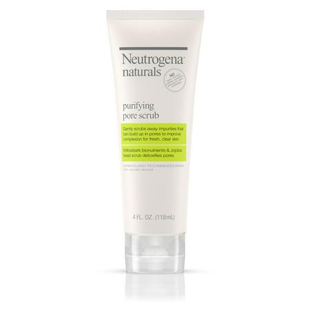 Detoxifying Daily Scrub - Neutrogena Naturals Purifying Daily Pore Facial Scrub, 4 fl. oz