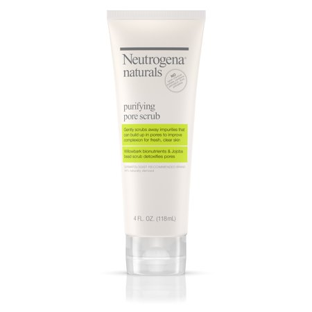 Neutrogena Naturals Purifying Daily Pore Facial Scrub, 4 fl. oz