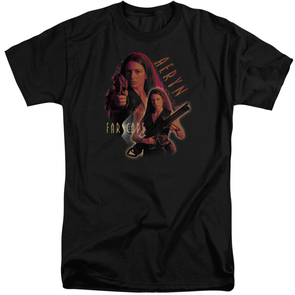 Farscape Aeryn Mens Big and Tall Shirt