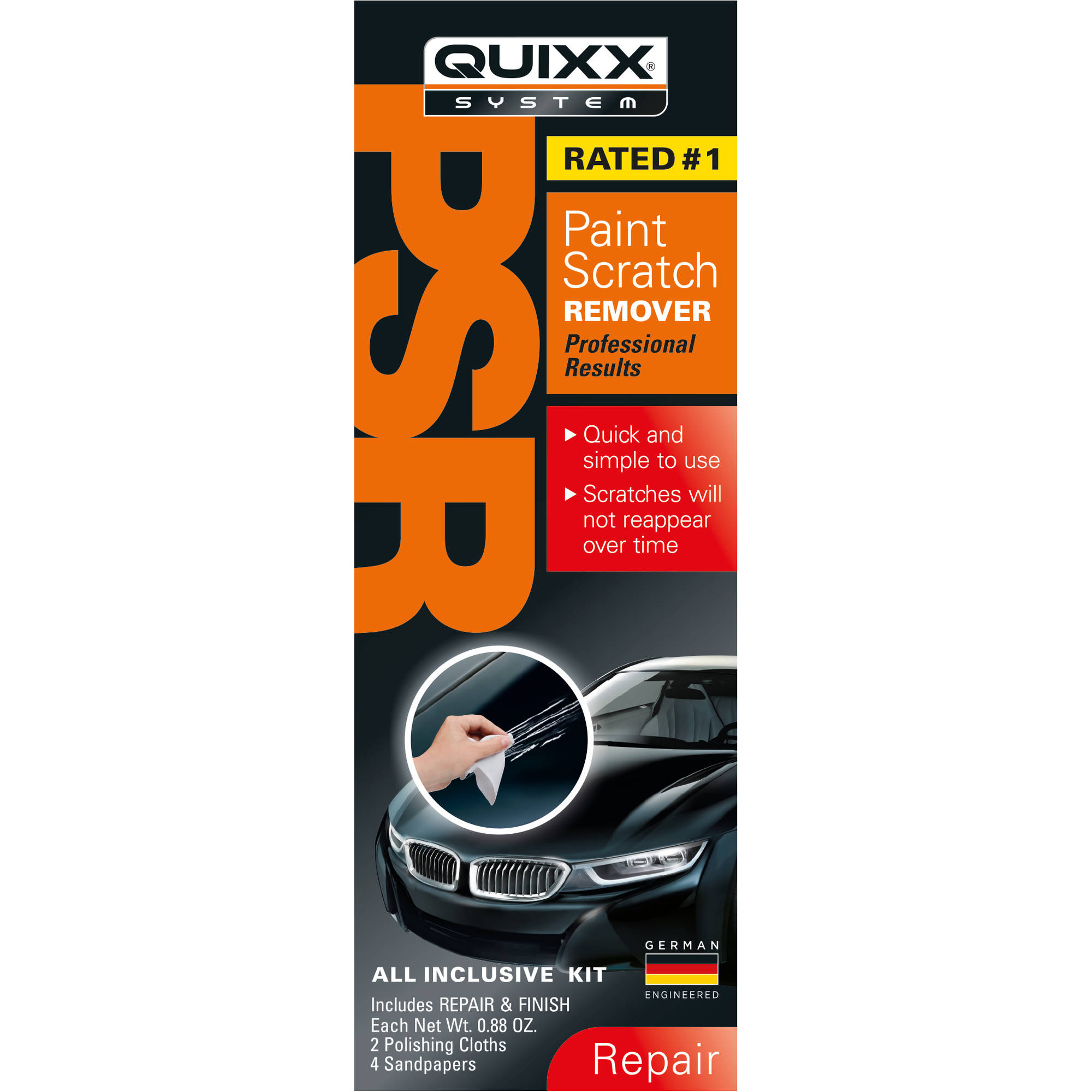 Quixx High Performance Paint Scratch Remover