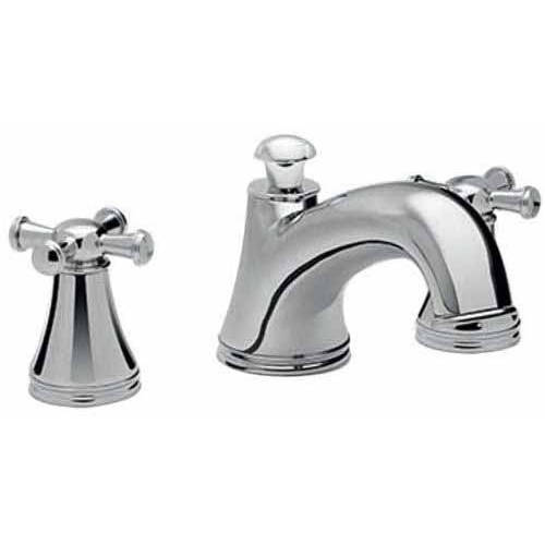 Toto Vivian Deck Mount Tub Filler Trim with Cross Handles, Available in Various Colors