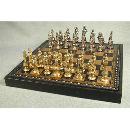 Ww Chess 99M 219Gn Florence Men On Leather Chest