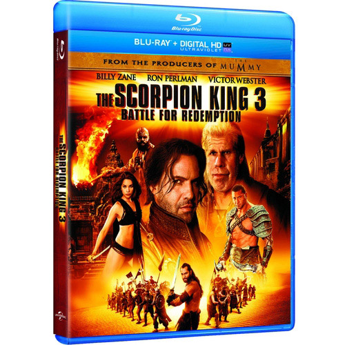 The Scorpion King 3: Battle For Redemption (Blu-ray + Digital HD) (With INSTAWATCH) (Widescreen)