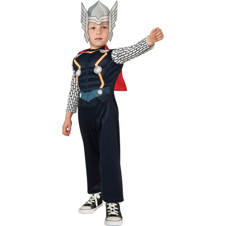 Morris Costumes Boys Thor Toddler, Style RU620017](Buy Thor Costume)