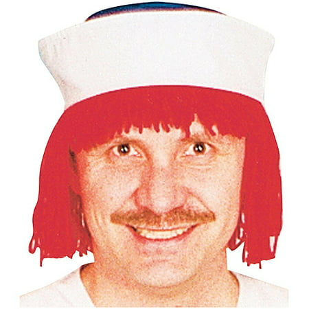 Raggedy Andy Wig and Hat Adult Halloween Accessory - Raggedy Ann Hat