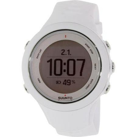 Suunto Men's Ambit 3 Sport White HR SS020680000 White Rubber Quartz Watch