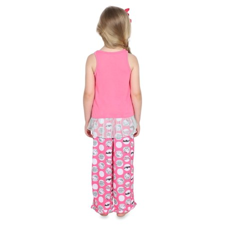 Hello Kitty Big Girls' 2pc Sleepwear Tank Set - image 1 of 4