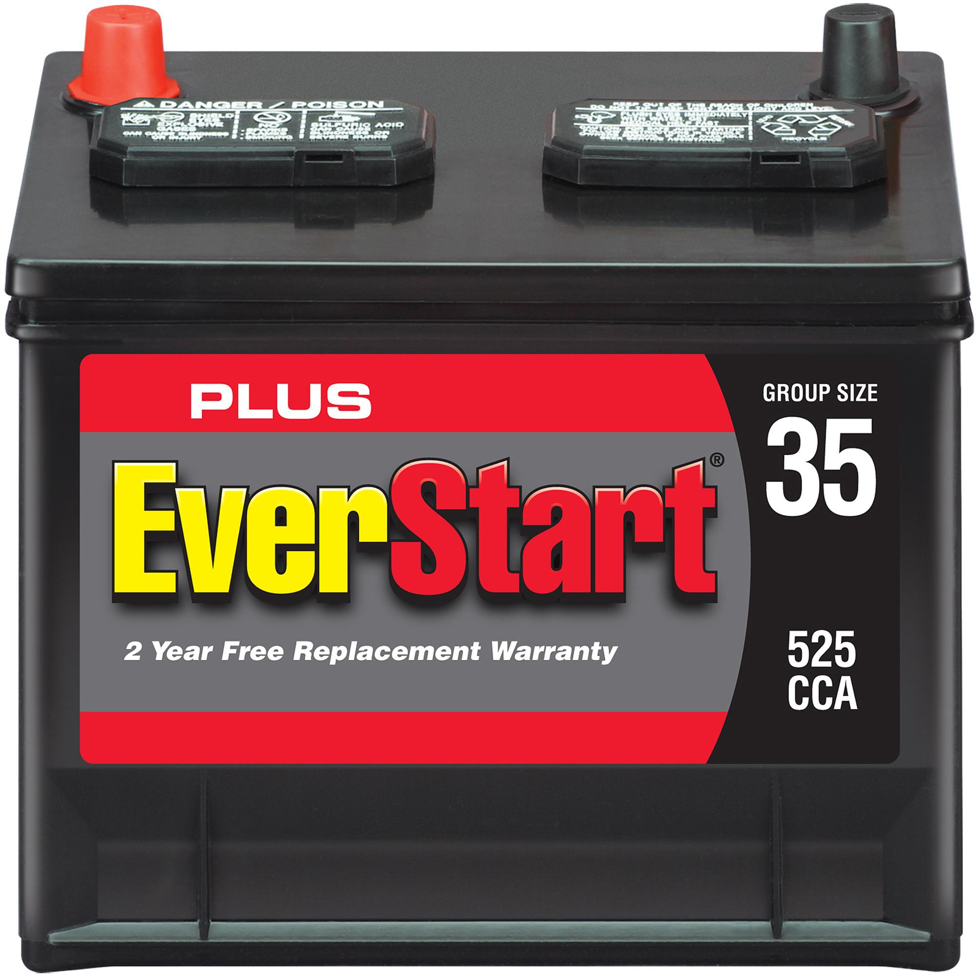 EverStart Plus Automotive Battery, Group Size 35-3