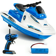 Force1 Wave Speeder Mini Remote Controlled Motor Boat for Kids