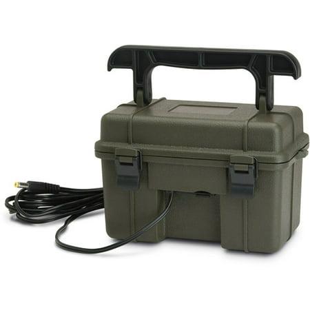 STC-12VBB 12V BATTERY BOX W/AC CHARGER