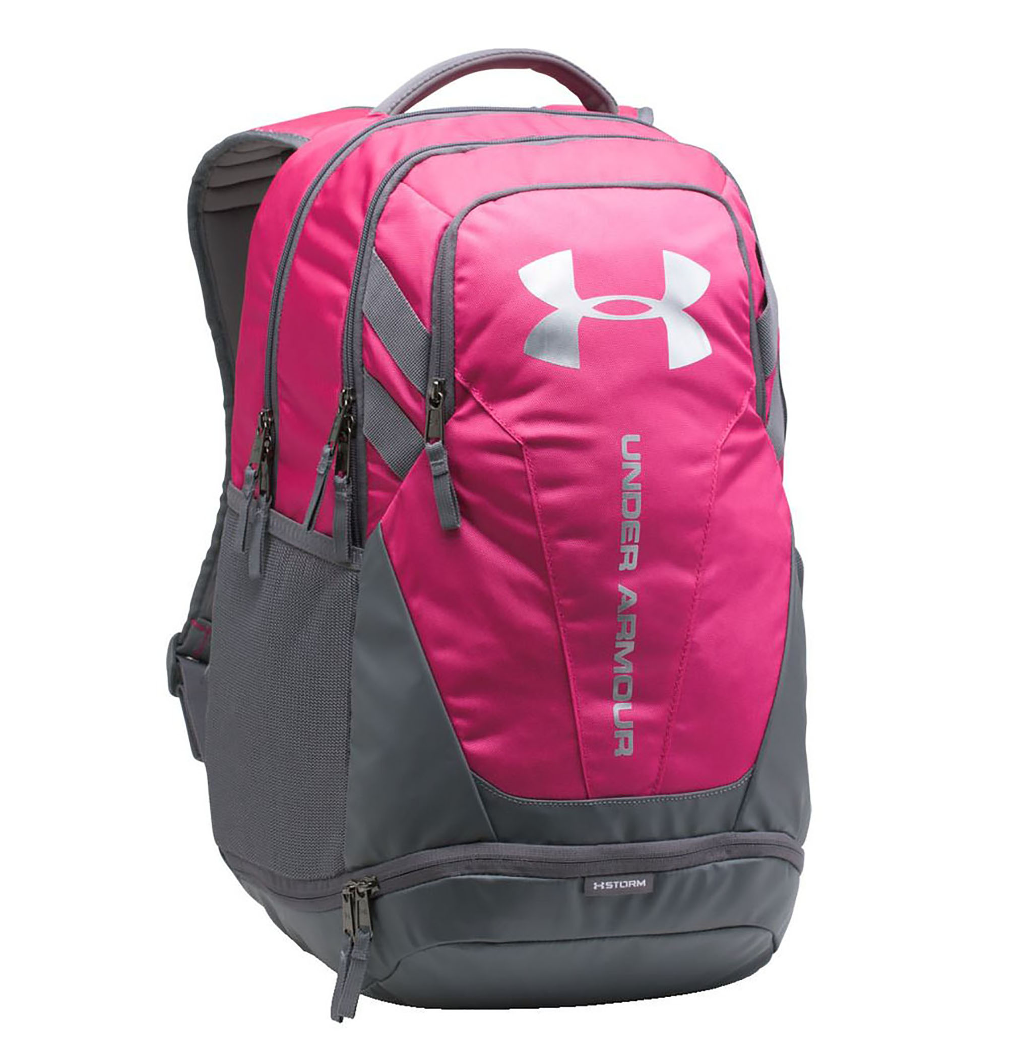 Under Armour Hustle 3.0 Backpack Tropic Pink/Graphite/Silver