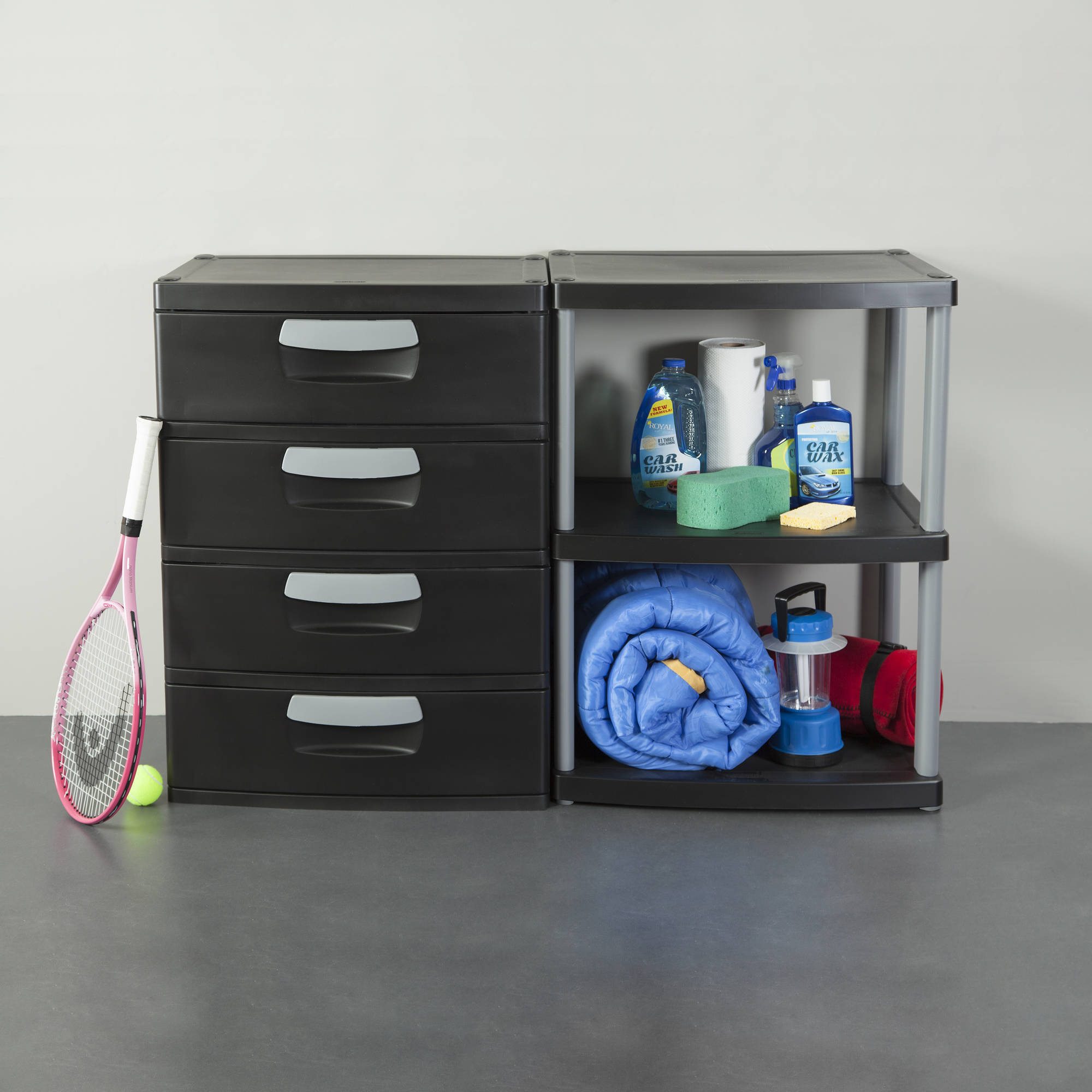 storage duty with cabinet heavy doors cabinets drawers plastic drawer