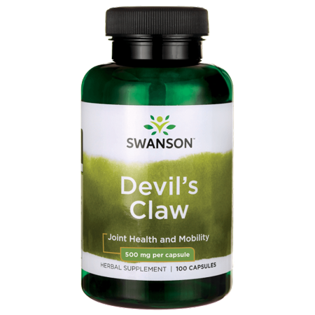 Natures Way Devils Claw (Swanson Devil's Claw 500 mg 100 Caps )