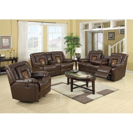 Roundhill Furniture Kmax 2 Piece Living Room Set