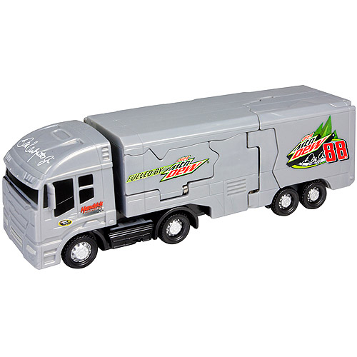 Nascar Bashers Super Bash Truck #88 Dale Earnhardt Jr Mtn Dew Smash Up Vehicle