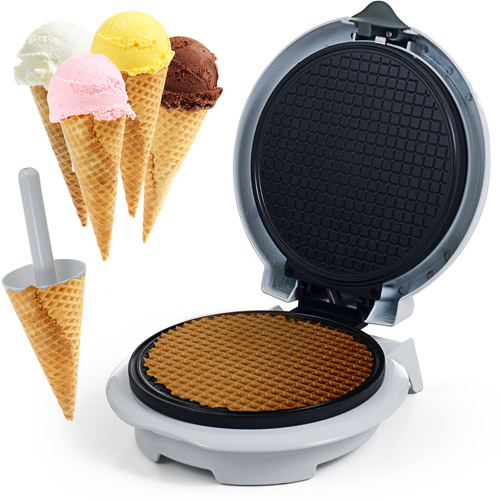 Chef Buddy Waffle Cone Maker with Cone Form