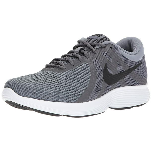 Nos vemos mañana Disco telegrama  Nike - Nike 908988-010: Men's Revolution 4 Dark Grey/Cool Grey/White  Running Sneakers (11 D(M) US Men) - Walmart.com - Walmart.com